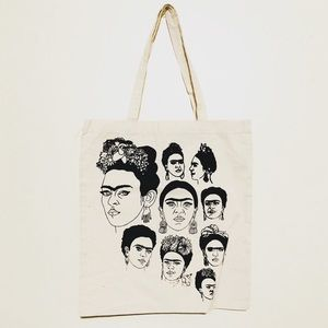 Handbags - Frida Kahlo Screen Printed Nwot tote bag